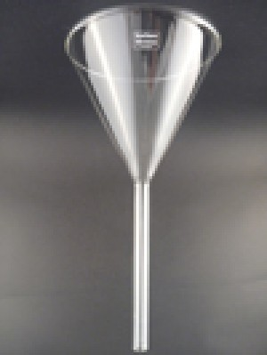 Funnel 60 degrees- glass 100mm
