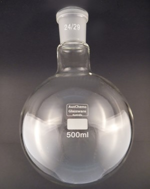 Round bottom boiling flask 1 neck 24/29 500mL