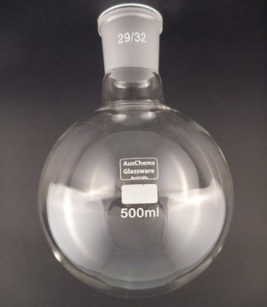 Round bottom boiling flask 1 neck 29/32 500mL